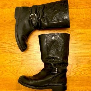Coach Moto Boots